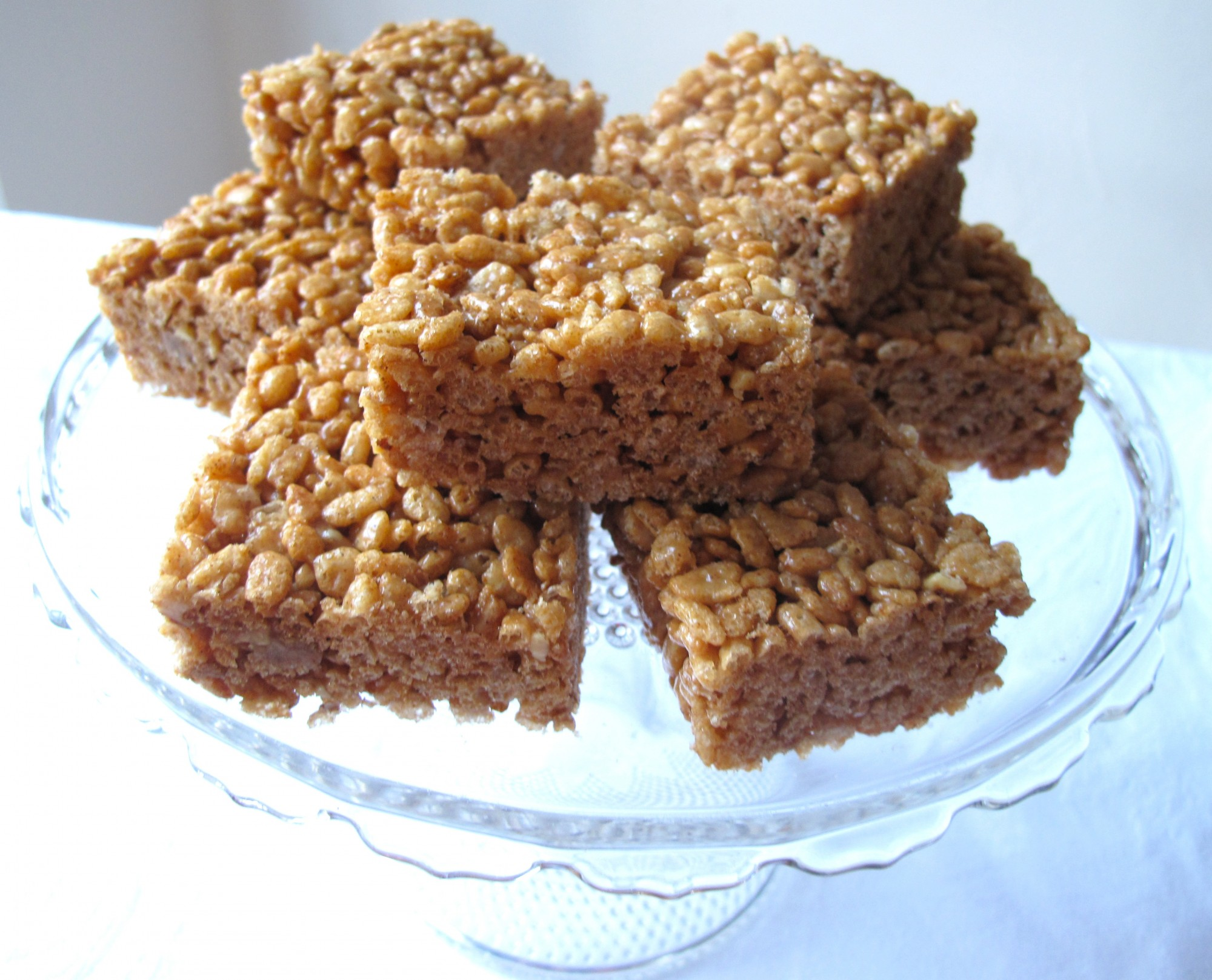 Brown Rice Crispy Treats e1332118946453 Naked Apple Pie