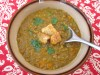 Lentil Soup1 100x75 Roasted Kabocha Squash Soup with Coriander, Cumin, and Fennel