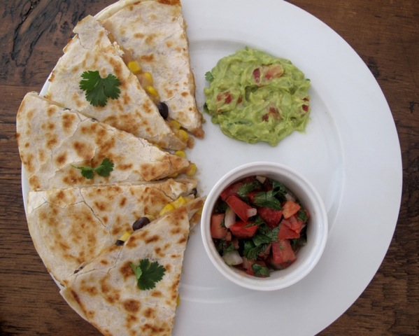 Black Bean and Corn Quesedillas Buddhas Coleslaw