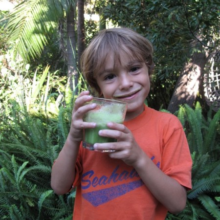 Kid's Green Smoothie