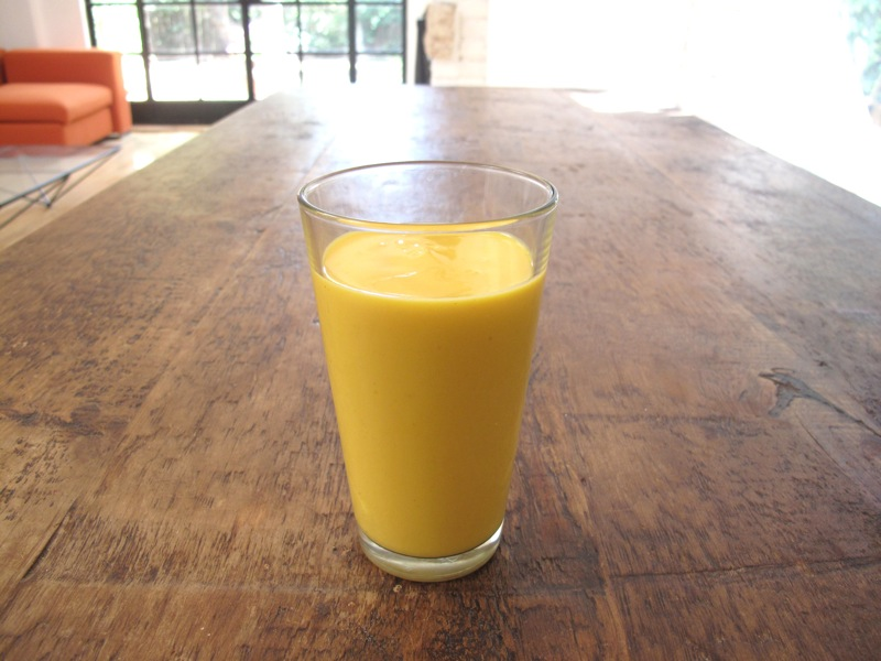 Mango Lassi1 The Green Smoothie for Kids