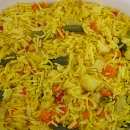 Mixed Vegetable Rice