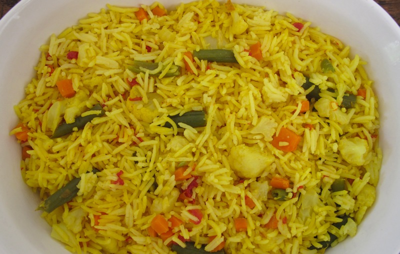 Mixed Vegetable Rice Mixed Vegetable Rice